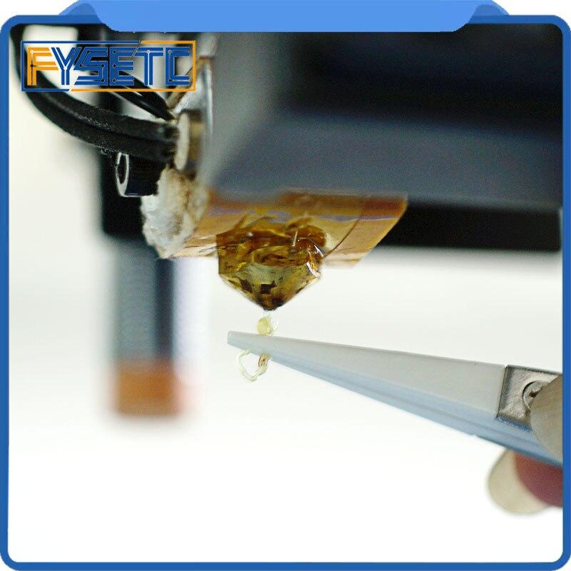 Инструменты для 3D-принтера Пинцет из нержавеющей стали L 120 мм изогнутый/прямой порт Пинцет очистка сопла нагрев расплава из нити