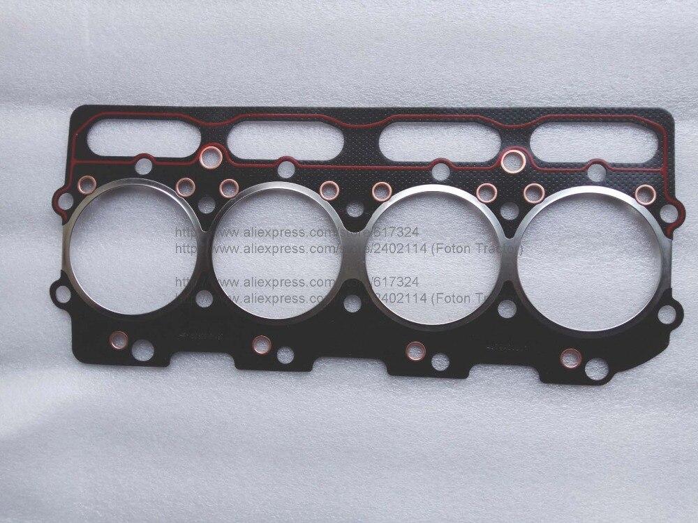 Junta de culata con motor Yuchai para maquinaria Lovol, número de pieza D0300-1003001B-497