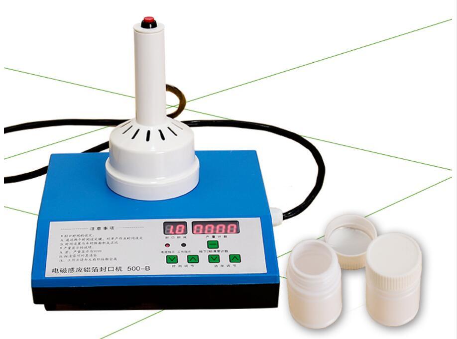 Aferidor de empacotamento do tampão do capper da máquina de selagem da folha de alumínio da indução eletromagnética handheld de 15-85mm