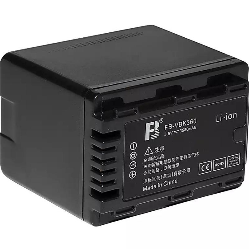 VW-VBK360 VBK360 lityum piller Panasonic HDC SD40 TM40 SD80 TM80 HS80 HS60 TM60 SD60 T50 H101 S71 dijital kamera pil
