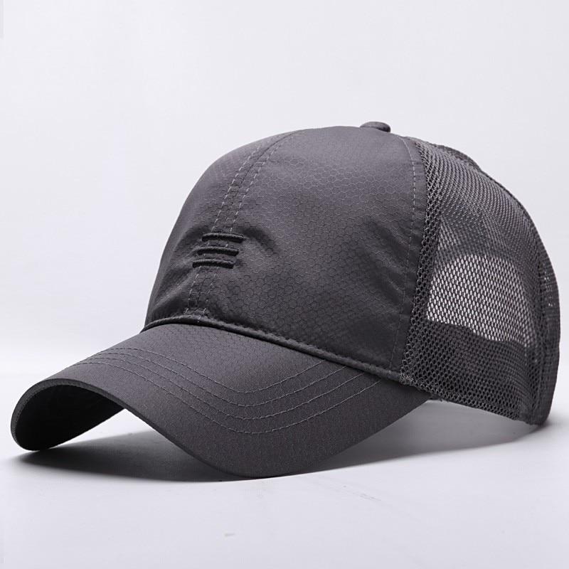Бейсболка Мужская сетчатая, кепка большого размера с сушкой, Размеры s M 55-60 см L 60-65 см