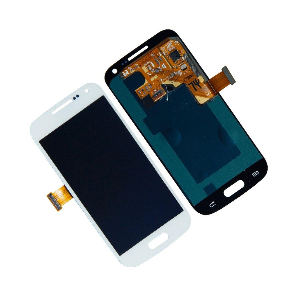 Para Samsung Galaxy S4 mini GT-I9192 SPH-L520 Digitalizador de pantalla táctil pantalla LCD piezas de reparación