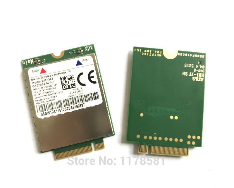 EM7345 FRU 04X6014 New&Original GOBI5000 4G Module NGFF wwan card for thinkpad T440 W540 T440P T440s X240 X250 enlarge