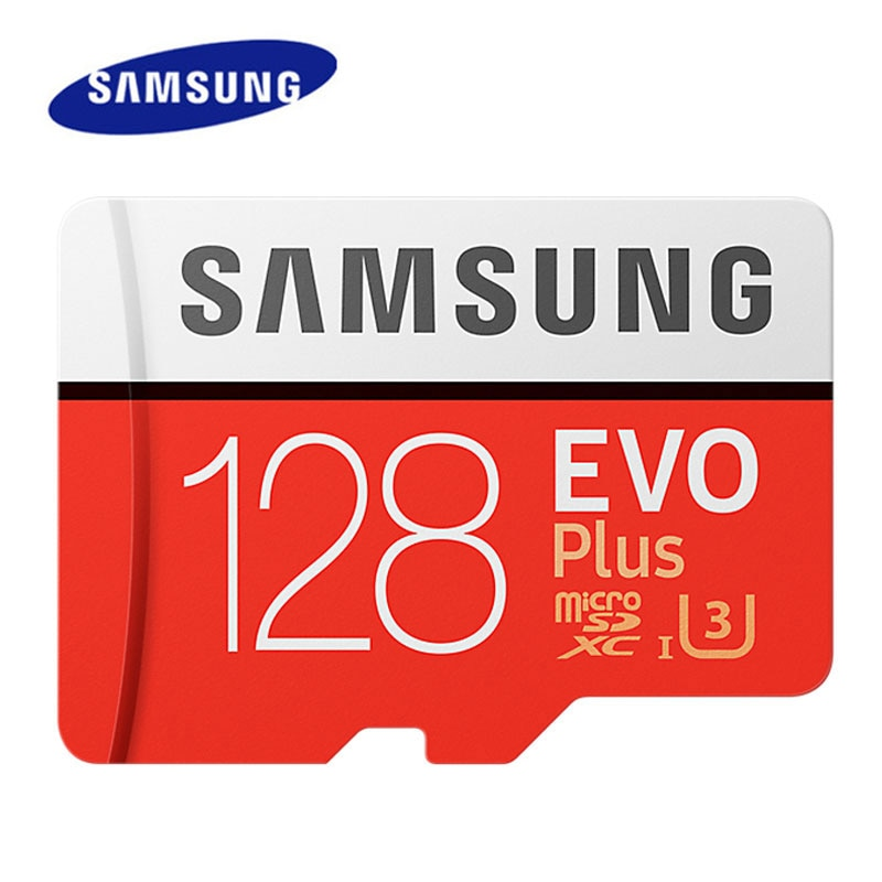 SAMSUNG Memory Card 512GB 256GB 128GB 64GB EVO Plus MicroSD U3 U1 Microsd TF Card cartao de memoria 100MB/s U3 4K HD Flash Card