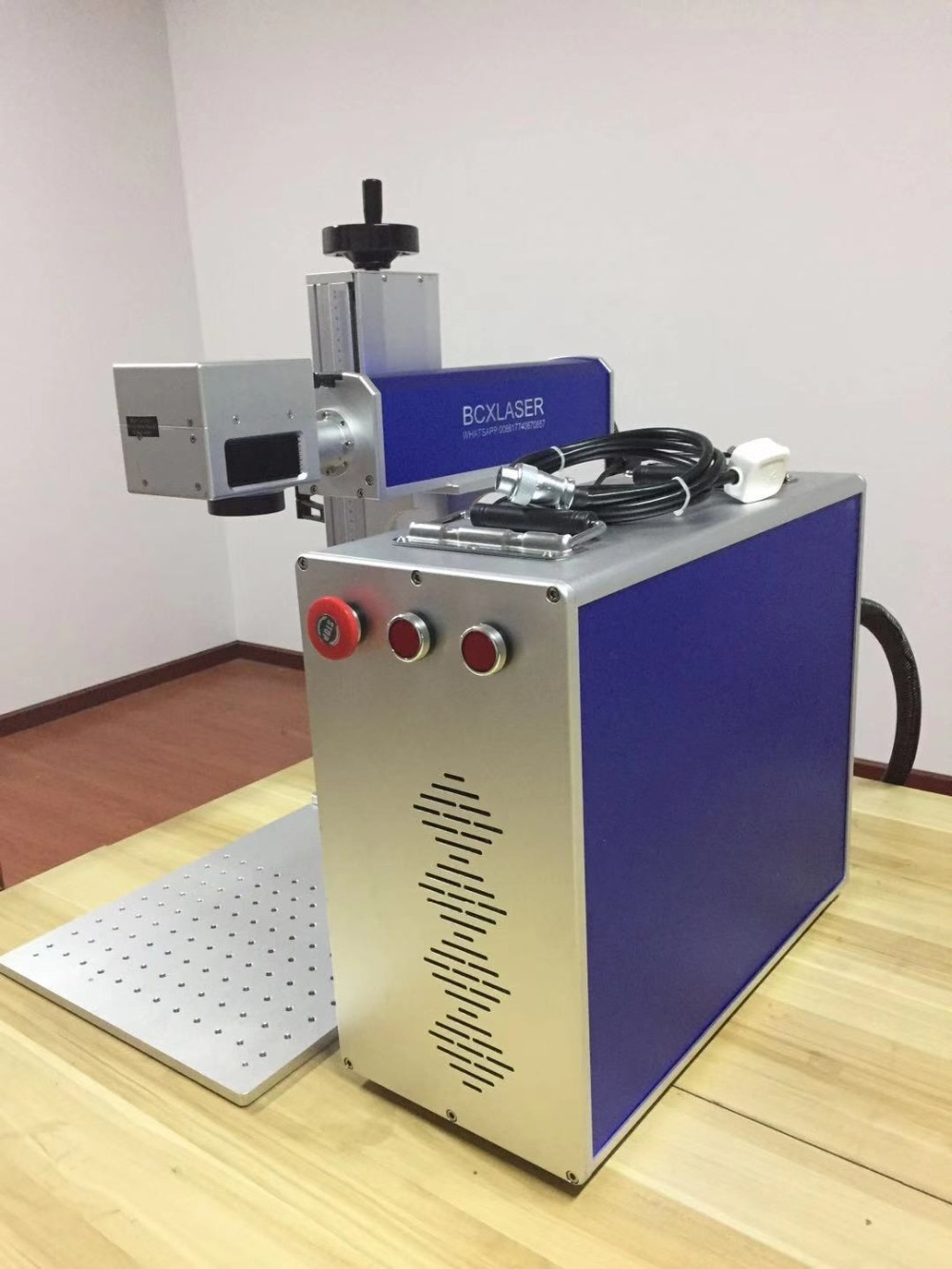 Made in China 10W/20W/30W MOPA Color laser marking machine for color laser marking with low price