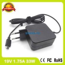 19V 1.75A зарядное устройство для ноутбука ac адаптер питания для ASUS Transformer Book Flip TP200 TP200S TP200SA R208SA R205TA R209TA EU Plug