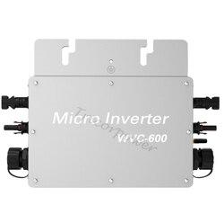 600 w grid tie solar micro inversor dc 22-50 v para ac 110 v ou 220 v mppt onda senoidal pura com comunicação sem fio