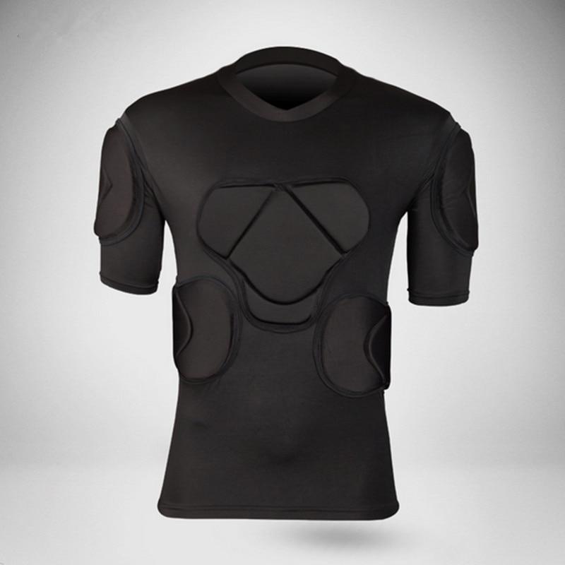 camisetas de fútbol Protección de la seguridad deportiva Camiseta del portero