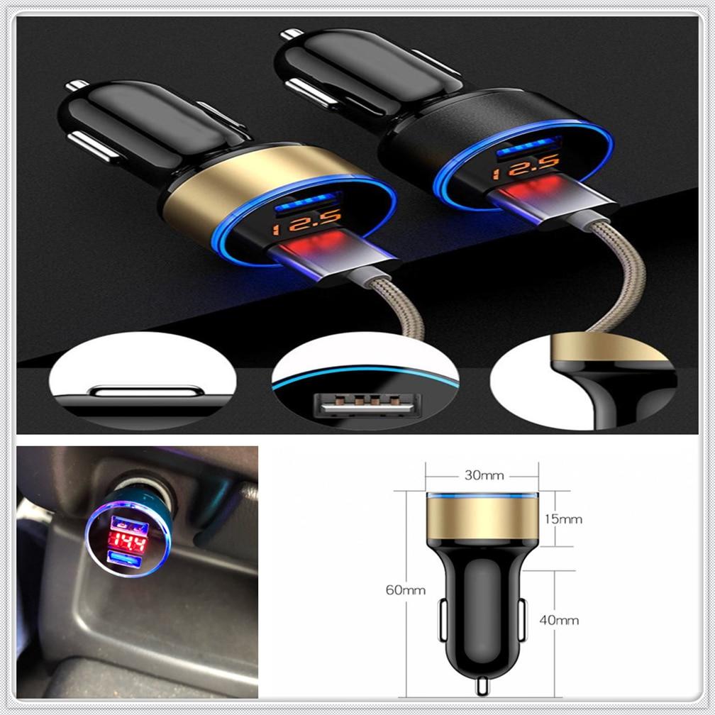Coche 2.1A USB cargador de encendedor adaptador de poder para Honda Everus claridad cívica acuerdo urbano FCX Brio 3R-C odisea Jazz Fit p-NUT