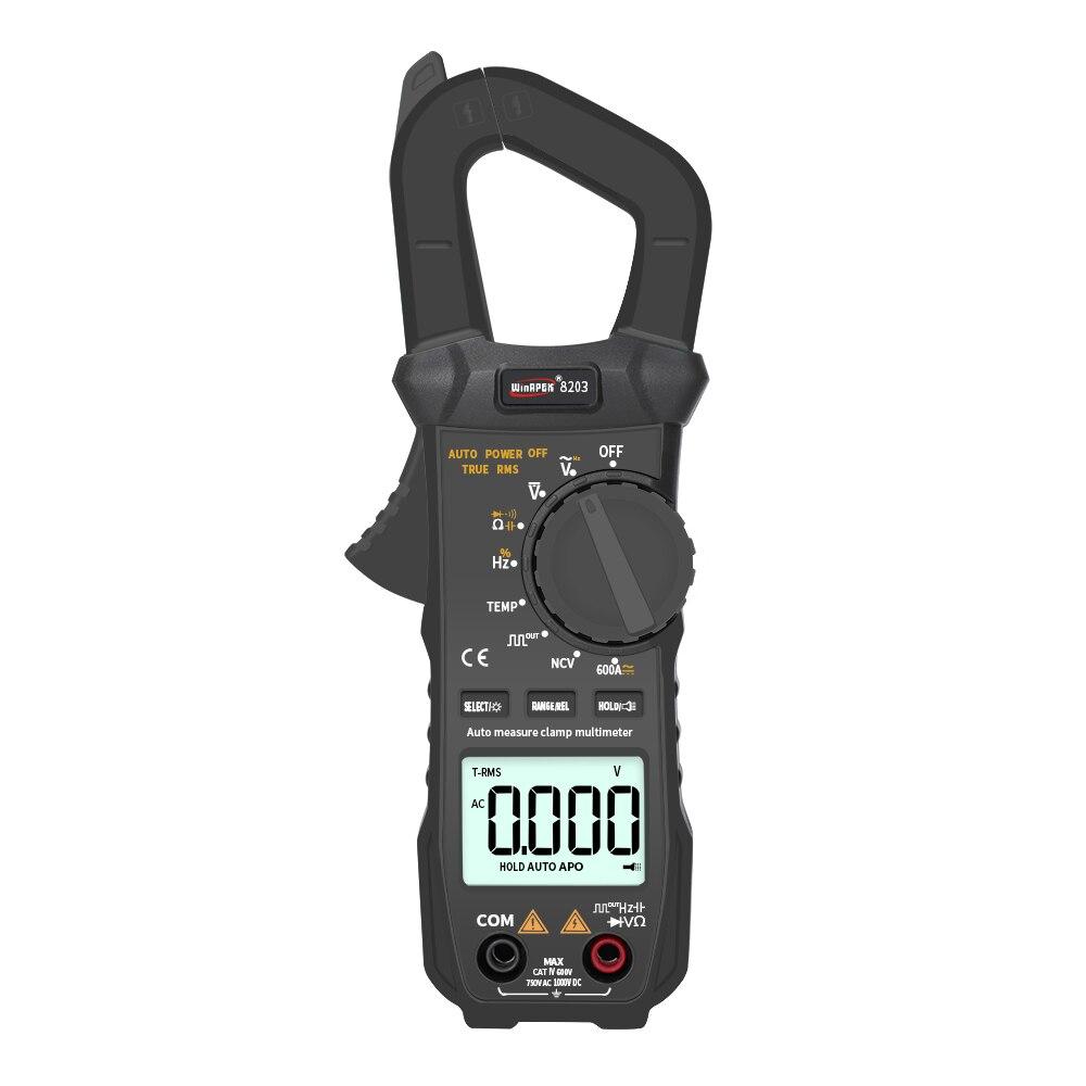 WinAPEX-pince de poche Portable, multimètre de poche, 6000 nombres vrais RMS, numérique pince de mesure avec sortie carrée