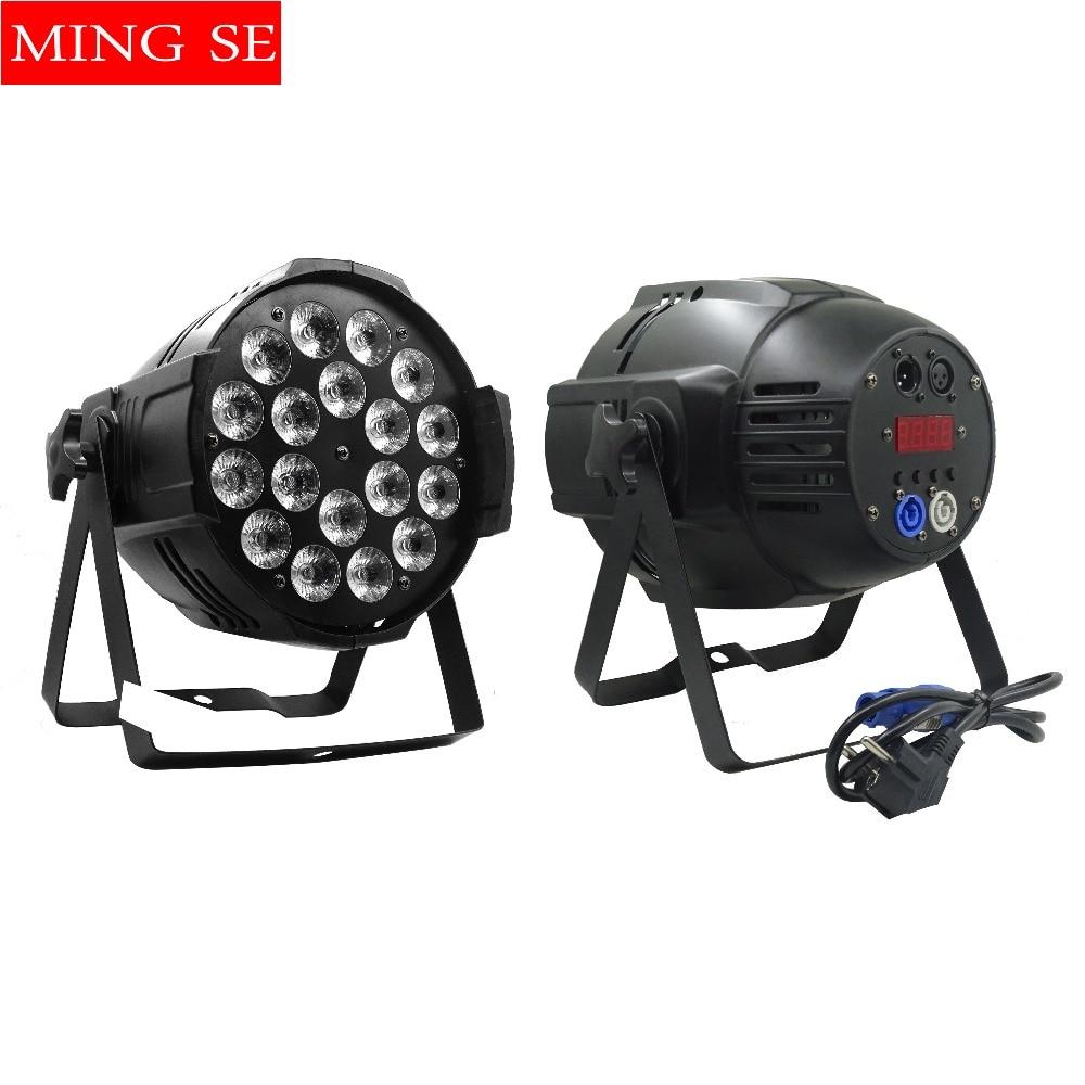 1pcs 18x12w led Par lights RGBW 4in1led dmx512 disco lights professional stage dj equipment