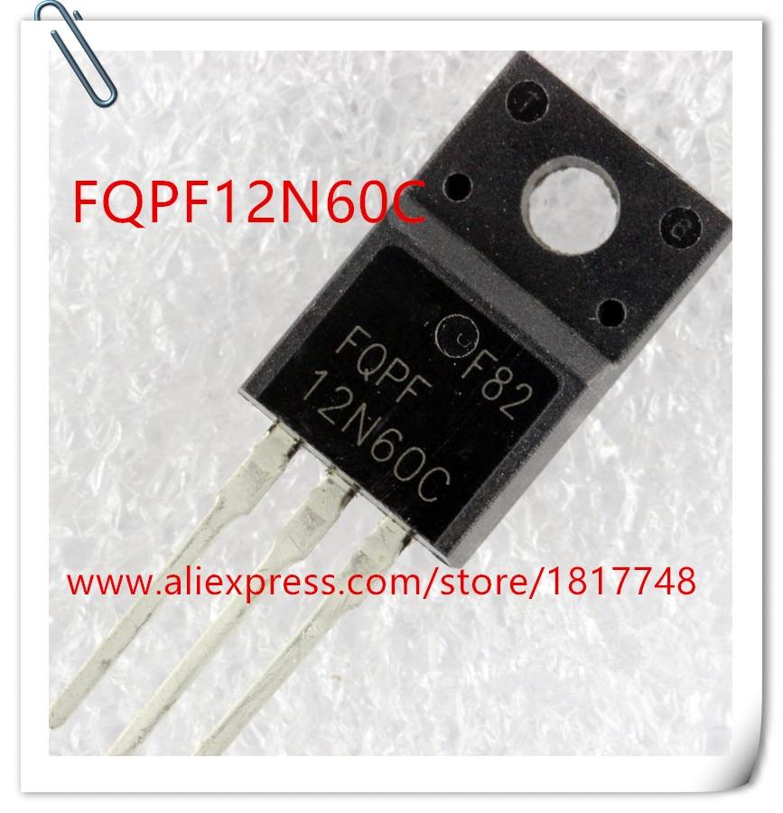 10 piezas FQPF12N60C FQPF12N60 12N60 12N60C-220 FAIRCHILD la fuente de alimentación LCD chip