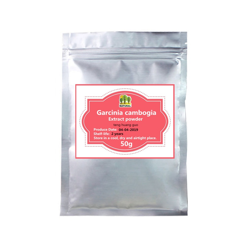 50-1000g, pérdida de peso y adelgazamiento, 80% HCA EXTRACTO DE Carcinia Cambogia en polvo, Teng Huang Guo, Garcinia Cambogia, Control de peso corporal
