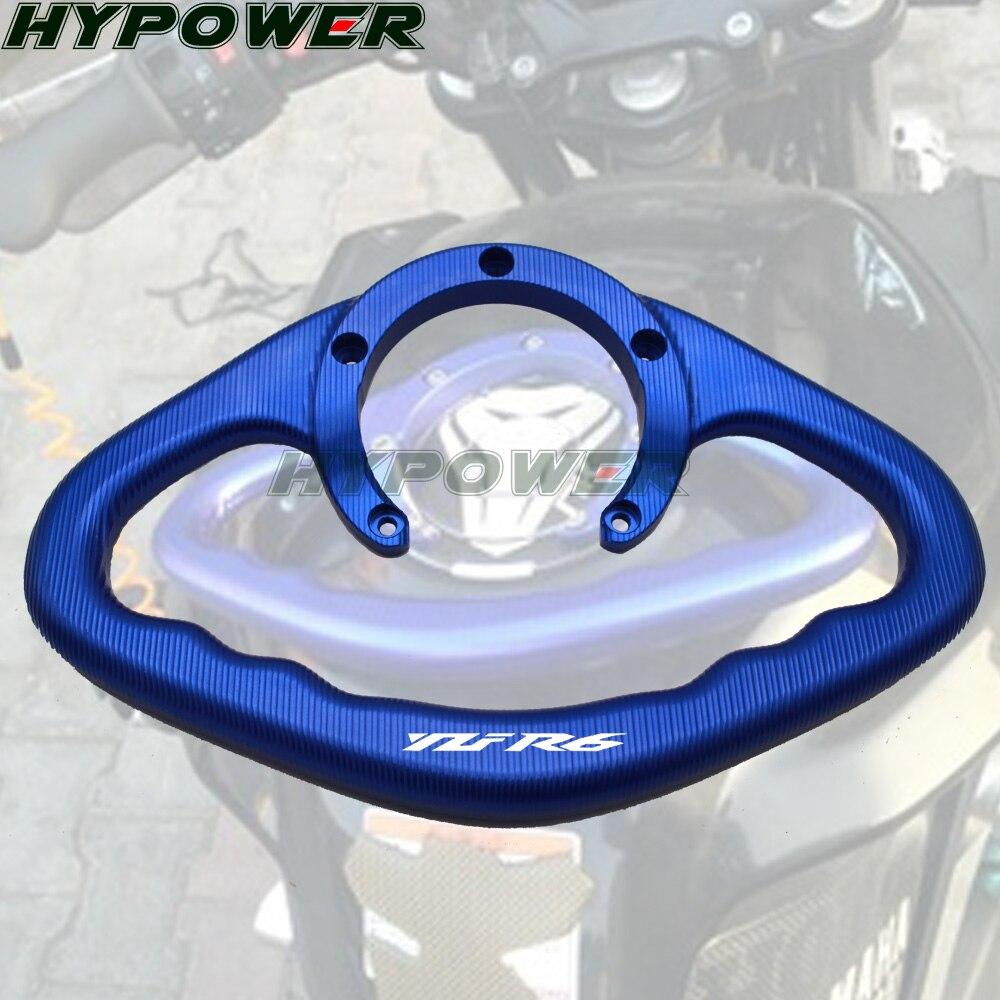 YZF R6 1999-2014 de 2013 accesorios de la motocicleta CNC de asas de mano tanque barra maneja reposabrazos para Yamaha r6