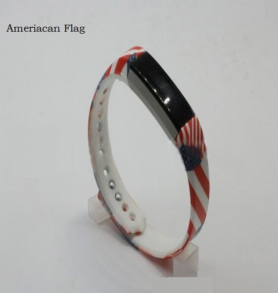 Colorido marco de Metal protector Margarita correa para Fitbit Blaze banda reloj pulsera Floral Rural pulseras TPU + TUS + TPE
