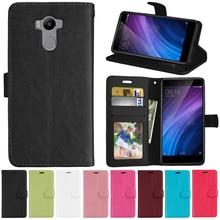 Case For Coque Xiaomi Redmi 4 Pro Redmi 4 Cases Flip Leather Cover Wallet Case For Xiaomi Redmi 4 4P