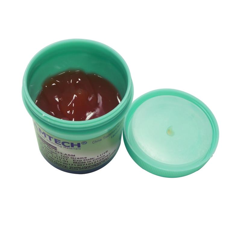 100% Original AMTECH RMA-223-UV 100g SMT / SMD BGA Soldering Solder Flux Paste For PCB Rework Reballing Welding Repair Tools