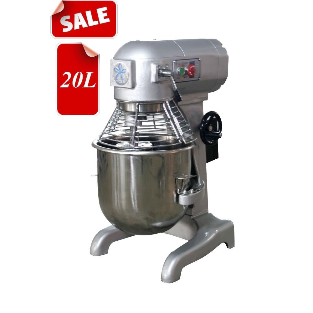 Batidora multifuncional de 20l y 40L, batidora de huevos, mezcladora de masa, máquina para rellenar leche