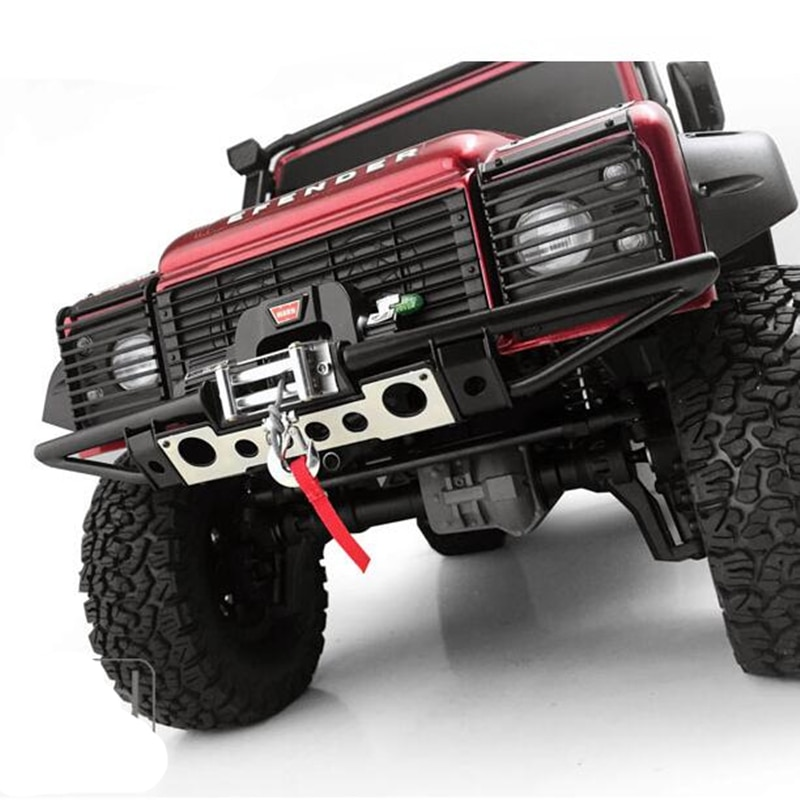 1/10 Rc Car Crawler Model Car Metal Front Bumper (No Winch) Assembly For 1:10 Scale Traxxas Trx4 Remote Control Toys Truck enlarge