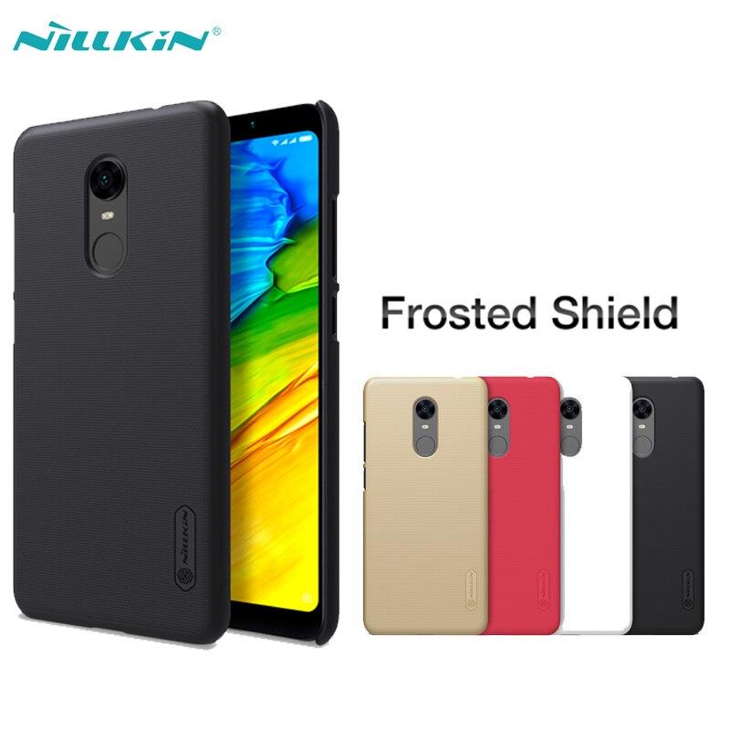 Para Xiaomi Redmi 5 Plus caso estuche Protector Super esmerilado NILLKIN de mate, PC, dura casos para Xiaomi Redmi 5 cubierta con Protector de pantalla