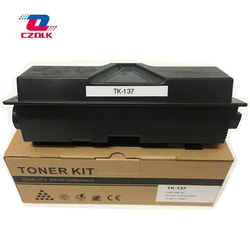 2 шт. X новые совместимые TK137 тонер-картриджи для Kyocera KM-2810 2810dp 2820mfp