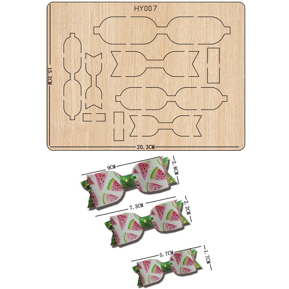 Troqueles de corte de arco 2019, troqueles y troqueles de madera compatibles con máquinas de troquelado comunes en el mercado