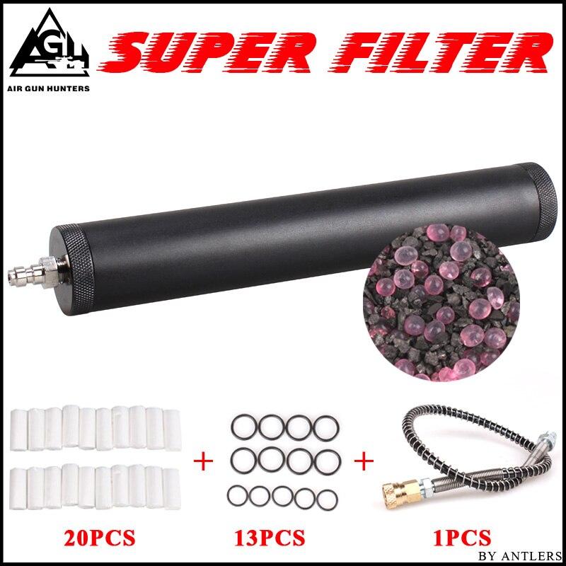 Воздушный фильтр высокого давления Pcp, сепаратор для масла и воды высокого давления pcp, компрессор 4500 фунт/кв. Дюйм, 30 мпа, 300 бар, воздушный эл...