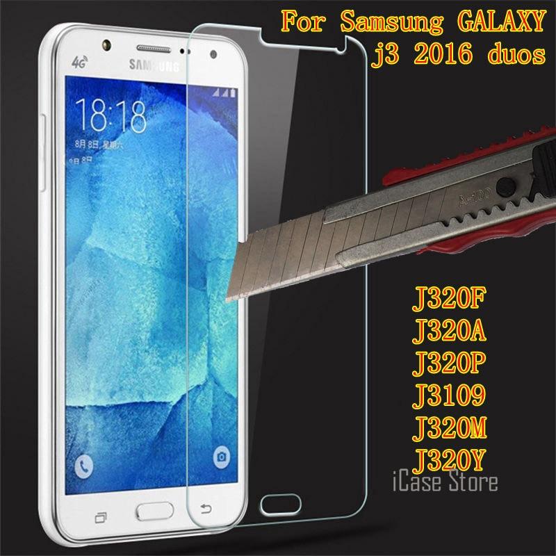 De vidrio templado para Samsung GALAXY j3 2016 duos Protector de pantalla...