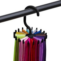 2019 Rotating Tie Rack Adjustable Tie Hanger Holds 20 Neck Ties Tie Organizer For Men 1.28