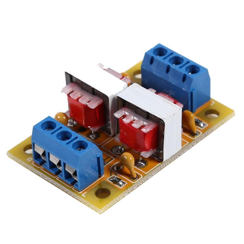 Aislador de Audio estéreo suelo común Anti-interferencia señal ruido Filtro de sonido
