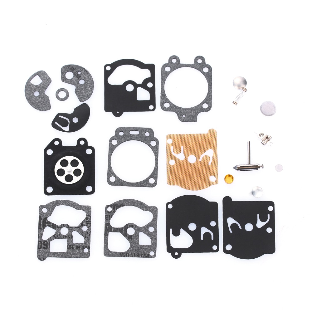22 шт./компл. Carb прокладка диафрагмы карбюратора Набор для ремонта иглы для WA/WT/Walbro серии K10/K20-WAT автокарбюратор