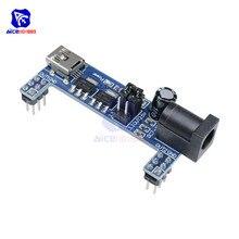 MB102 platine de prototypage Module dalimentation cc 3.3V 5V pour Mini USB sans soudure alimentation Compatible pain conseil MB-102 MB 102