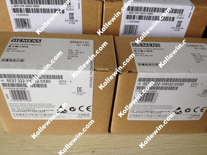 Original 6ES7222-1HH32-0XB0 SIMATIC S7-1200 DIGITAL OUTPUT 16 DO RELAY 2A  6ES72221HH320XB0 PLC Moudle 6ES7 222-1HH32-0XB0