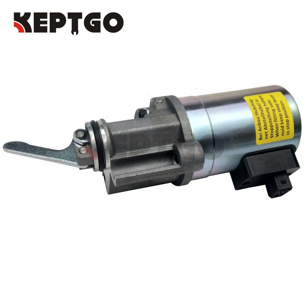 Deutz 1012 جهاز إيقاف الوقود ، الملف اللولبي 0419 9900 04199900 12V ، استبدال
