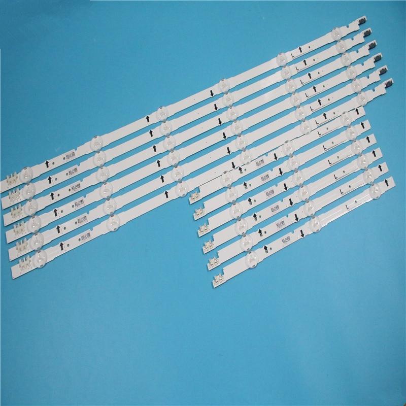(جديد كيت) 12 قطعة LED الخلفية قطاع D4GE-480DCA-R2 D4GE-480DCB-R2 لسامسونج 48 بوصة التلفزيون UE48H6470 2014SVS48F 3228 R03 L06