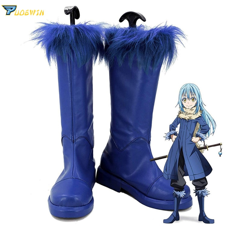 Tensei Shitara Slime Datta Ken Rimuru ، أحذية رياضية ، أحذية أنيمي ، ذات وقت منحني ، كحذاء لزج ، تأثيري