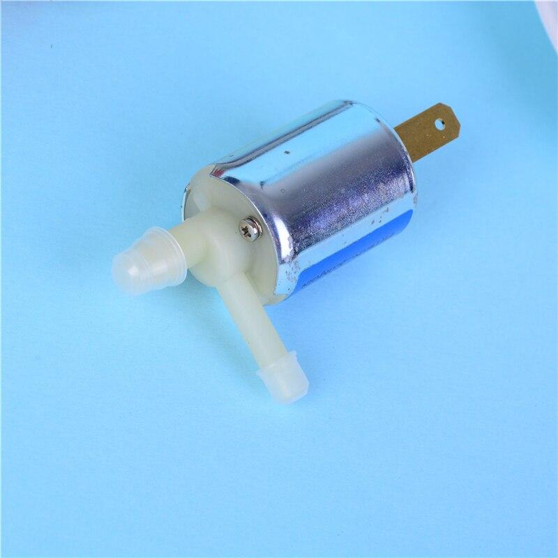 1 ud. Mini DC24V/12V válvula solenoide normalmente cerrada Micro válvula de Gas de agua eléctrica desanimada