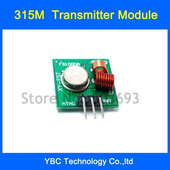 Módulo Transmisor RF inalámbrico superregeneración 315 M 315 MHZ 20 PPcs/Lot