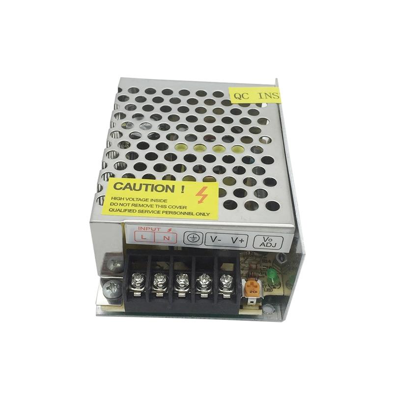 Transformador de voltaje del adaptador del controlador de conmutación de fuente de alimentación del interruptor de 60W 12V 5A para la pantalla de luz de tira Led 110 V/220 V