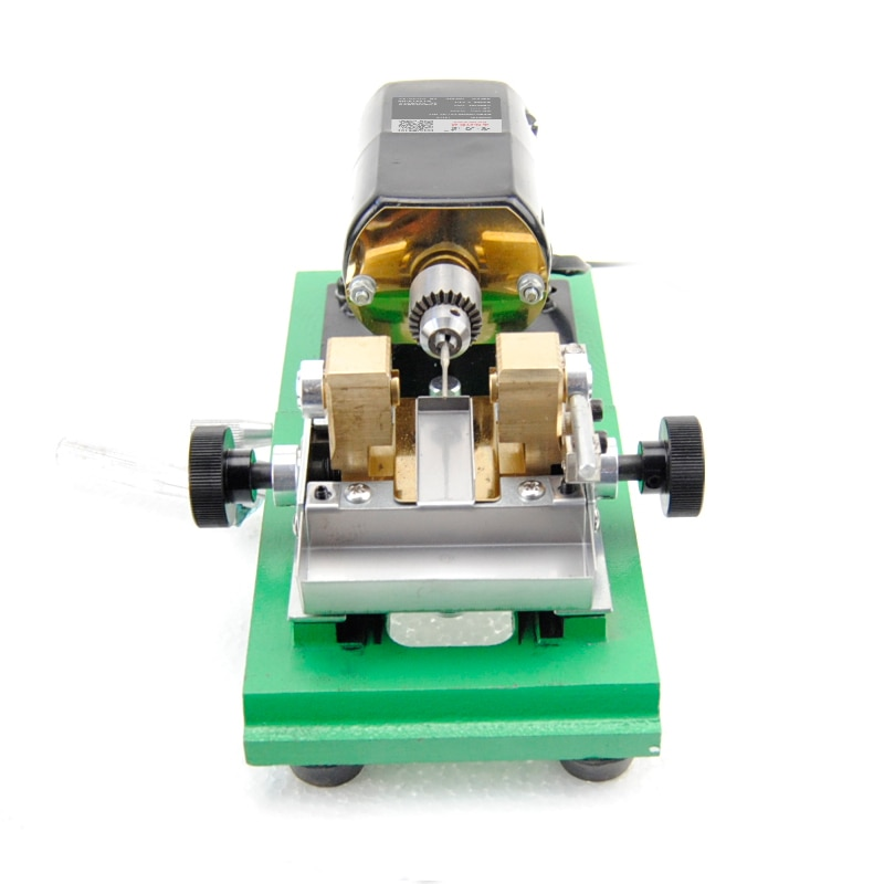 Pearl hole punch amber beeswax wooden olive barrel bead jade grinding/drilling machine Variable speed enlarge