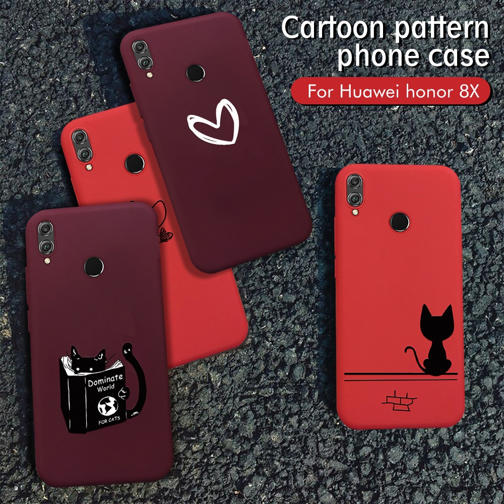 Чехол для Huawei Honor 8X 10i 20i 20 Pro 10 9 Lite P Smart 2019 P30 P20 Pro Mate 20 Lite Nova 5 Pro 5i TPU