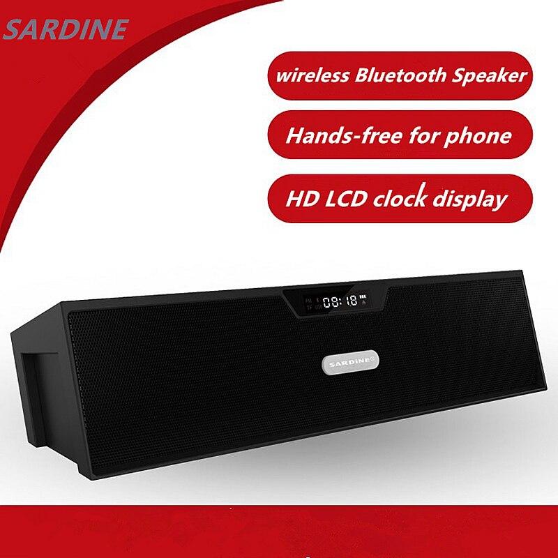 Mini altavoz SDY-019 de alta fidelidad, altavoz Portátil con Bluetooth, amplificador estéreo, bluetooth, altavoz con micrófono, Radio FM para iphone, ipad, SP019