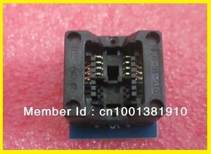 10PCS/LOT SOIC8 Adapter SOP8 to DIP8 150Mil IC Socket for USB universal Programmer TL866CS/TL866A/EZP2010/G540/SP300/RT809F/G840