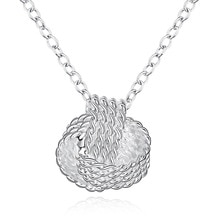 wholesale silver color for women wedding Noble Beautiful fashion Elegant charm pretty pendant chain