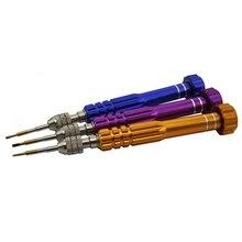 5 en 1 précision Torx tournevis aimant ensemble téléphone portable montre Kit doutils de réparation