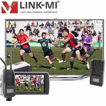 LINK-MI LM-WHD100C 100m 5GHz sans fil HDMI récepteur de Transmission 1080p moins de zéro retard système vidéo sans fil