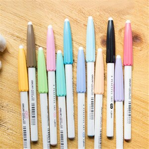 12pcs Colors gel Pen office stationery 0.38mm Color Pen Graffiti Painting Brush Gel Pen School Supplies