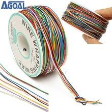 250M 8 fils couleur isolé P/N B-30-1000 30AWG fil enroulé câble enrouleur