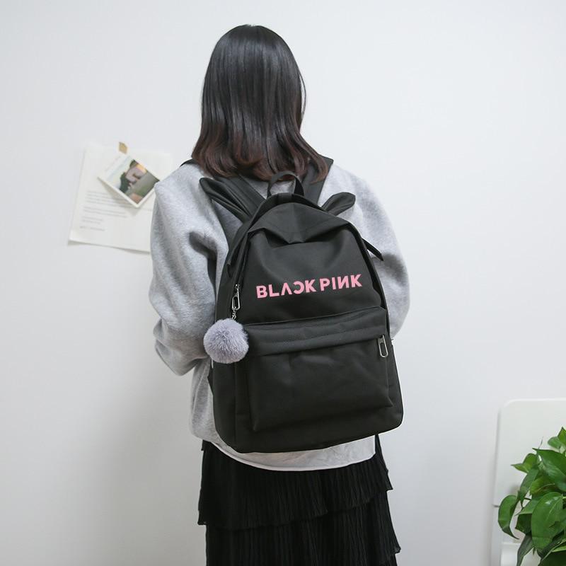 Blackpink Rucksack Tasche Got7 Zweimal Monsta X Wollen Einen Rucksack Schul Streu Kinder Nct127 Rucksäcke für Geschenk Sac A Dos femme