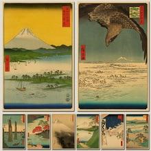 Vintage Papier Retro anime poster-Japanischen ukiyoe-Poster poster/Vintage Hause Wand aufkleber Dekor